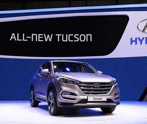 现代汽车新发布新一代途胜紧凑型跨界SUV高清图片