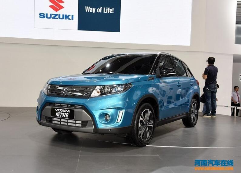 定位小型SUV 长安铃木全新维特拉发布高清图片